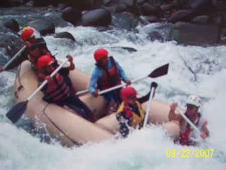 Whitewater<br /> River Rafting