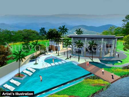 proposed swimming pool
