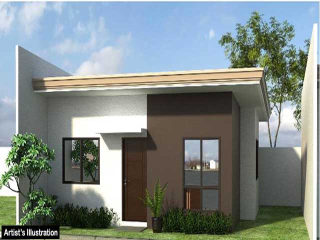 Low cost housing philippines design home design and style Building plans for houses and price
