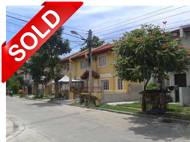 sold townhouse unit