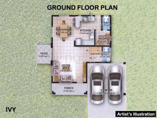Ivy ground floor plan