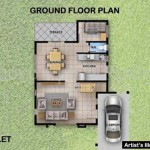Violet ground floor plan