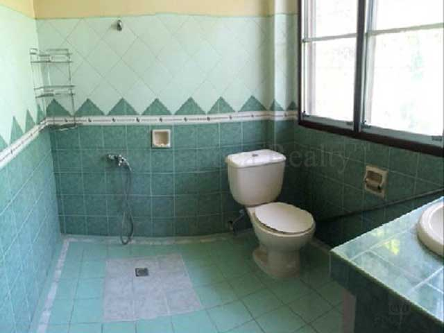 Master bedroom's 2nd toilet