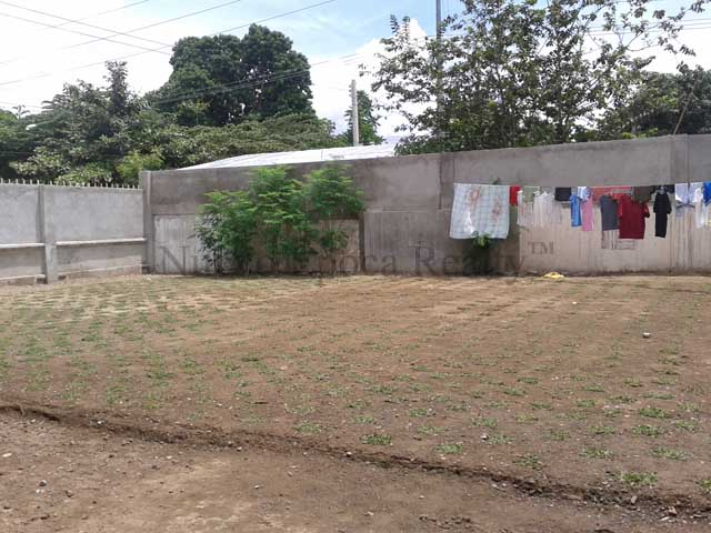 vacant lot area