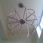 modern tube-chandelier