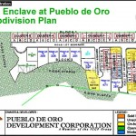 The Enclave Subdivision Plan