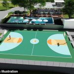 Architect's rendition of Lohas amenities