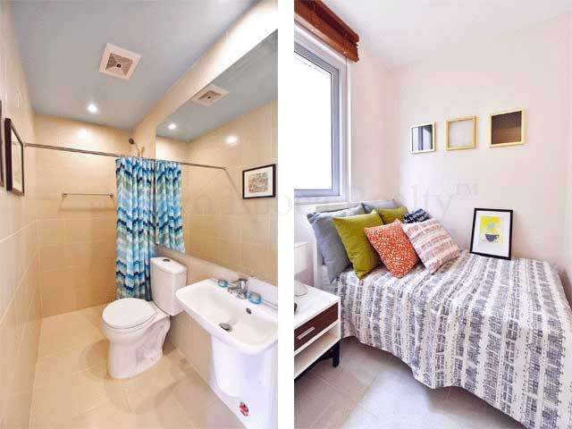 Toilet and Bath & Maid's Room