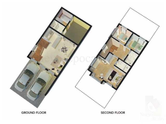 Corner Unit Floor Plan