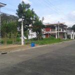 Corner residential lot along main road