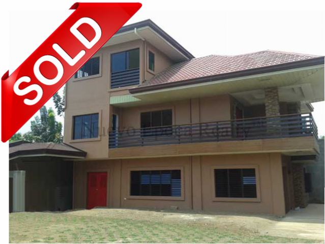 sold 3-storey house