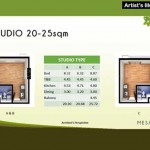 Studio Floor Area Specifications