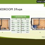 1 Bedroom Floor Area Specification