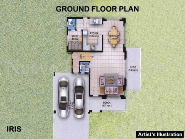Iris ground floor plan