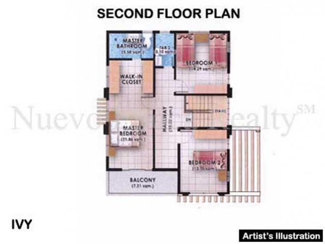 Ivy 2nd floor plan