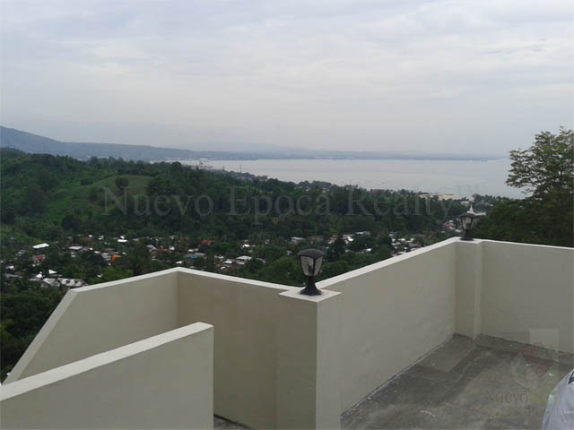 View of the Macajalar bay from the garage