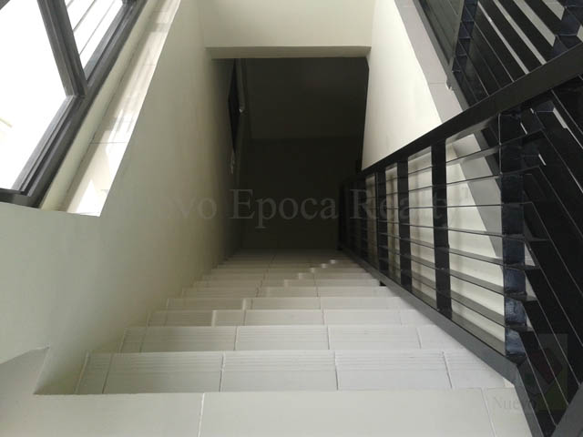 Stairway to the bedrooms on the 2nd level