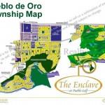 Pueblo de Oro Township map