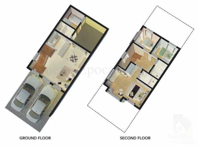 Mid Unit Floor Plan