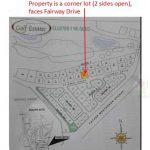 Pueblo de Oro Golf Estates' Cluster 1 Block Map