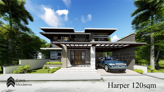 2-storey, 3-bedroom house