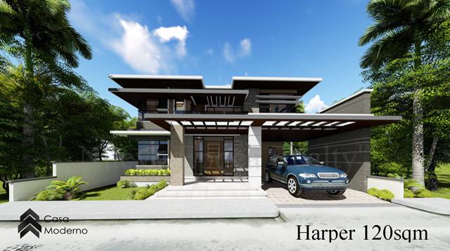 2-storey, 3-bedroom house