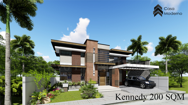 2-storey, 5-bedroom house
