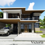 2-storey 3-bedroom house